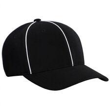 Smitty | Ht-100 Bk | Black| Officials Referee Cap Hat | Football Lacrosse
