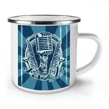 Jazz All The Way Music NEW Enamel Tea Mug 10 oz   Wellcoda