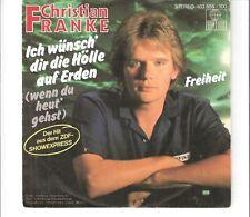 CHRISTIAN FRANKE - Ich wünsch dir die hölle auf Erden