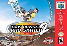 Tony Hawk Pro Skater 2 N64, (N64)