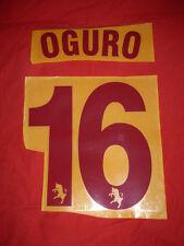 KIT OGURO 16 GRANATA X MAGLIA CALCIO TORINO ASICS NUOVO STILSCREEN