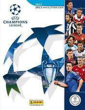 ALBUM PANINI FIGURINE STICKER UEFA CHAMPIONS LEAGUE 2012/13 VUOTO EDICOLA
