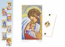 Quadro Moderno Sacra Famiglia e altri soggetti religiosi, Calistini, Idea Regalo