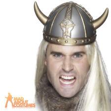 Viking Helmet Medieval Fancy Dress Costume Hat Accessory