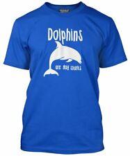 Los delfines son sólo Gay Tiburones T Shirt-Funny orgullo Todos Los Colores Tee Para Hombre