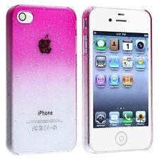 Iphone 6 4,7 pouce -Etui Housse Coque Trompe l'oeil - Gouttes d'eau -  Rose