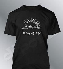 T-shirt personalizzato Riccio Emo M L XL uomo gitani voyage Gipsy modo of life