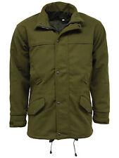 Mens Stormkloth Waterproof Moss Green Hooded Hunting Shooting Jacket Olive Green