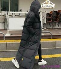 Women's Winter Down Cotton Jacket Hooded Long Coat Parka Overcoats Full Length