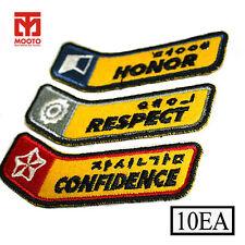 Mooto Taeki Inner Strength Patch Mini 10Ea (1set) Martial Arts Uniform Patch