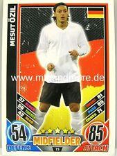 Match Attax Euro EM 2012 - #073 Mesut Özil - Deutschland