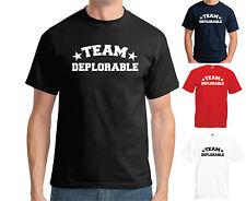 Equipo deplorable T-Shirt-Donald Trump elecciones presidenciales 2016 EE. UU.