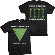 TYPE O NEGATIVE SILENCE = DEAF GOTHIC METAL MUSIC GOTH ROCK BAND SHIRT S-2XL