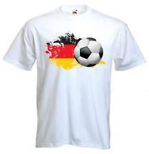 Allemande de football T-shirt-Allemagne Football Deutschland Drapeau-S à 3XL