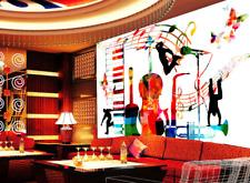 3D Guitar Music Image 5447 Wall Paper Wall Print Decal Wall AJ WALLPAPER CA