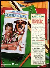 SUMMER SCHOOL__Original 1987 Trade AD / movie promo__MARK HARMON__KIRSTIE ALLEY