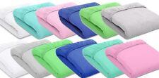 2-er Pack Jersey Spannbettlaken farbig-weiss Größe 140 x 70cm / 8 Farben