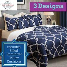 6p Luxury Comforter Bedding Set   3 Queen Designs   6pc Comforter Set