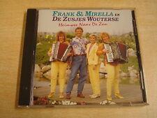 ACCORDEON CD / FRANK & MIRELLA EN DE ZUSJES WOUTERSE - HEIMWEE NAAR DE ZON