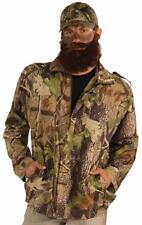 Camo Jacket Hunting Man Duck Hunter Fancy Dress Up Halloween Adult Costume