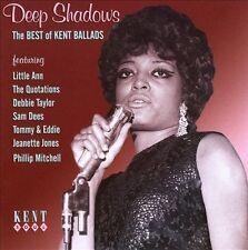 """DEEP SHADOWS  """"THE BEST OF KENT BALLADS - 24 STUNNING SOUL BALLADS""""  CD"""