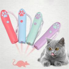 Funny Pet LED Cat Laser Toy Laser Pointer Pen Cute Kitten Paw/fish/Mouse Shape
