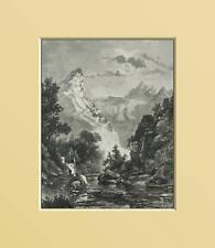 CARRARA:CAVE DI MARMO.Passpatout Dall Alpi.Etna.1890.