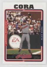 2005 Topps #383 Alex Cora Cleveland Indians Baseball Card