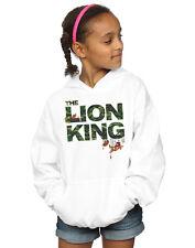 Disney Niñas The Lion King Jungle Camo Capucha