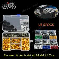 Suzuki RF900R 1993-1999 Motorcycle Full Set Fairing Bolt Kit Bodywork Screw Kits