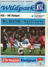 BL 91/92 Karlsruher SC - VfB Stuttgart
