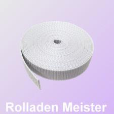 Rolladen Gurtband 22 mm Elektrische Gurtwickler Rollladen Gurt 0,8 mm dick, grau