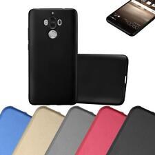 Schutz Hülle für Huawei MATE 9 Handy Cover Case TPU Matt Metallic Bumper