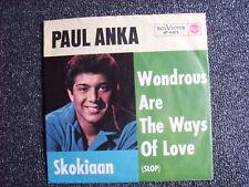 Paul Anka-Wondrous are the Ways of Love 7 PS-Germany