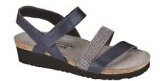 Naot Krista Polar Sea/Dark Blue Silver Sandal Womens sizes 5-11/36-42 NEW!!!