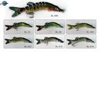 Leurre poisson nageur articulé Live Real Pike 150S 27gr pêche brochet pike bass