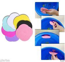 Almohadilla de silicona Makeup Brush Cleaner herramienta de limpieza para tablero Depurador De Lavado Nuevo