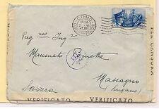1941 Fratellanza Italo-Tedesca, cartolina e 3 lettere