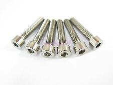 M5 x 25mm Titanium Ti Bolt Hex Socket Cap Head - Allen Key Screw GR5 - 2/6/10pcs
