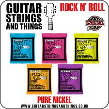 Ernie Ball Classic PURE níquel Slinky Rock N Cuerdas para Guitarra Eléctrica Roll