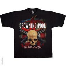 Drowning Pool Children of the Gun Black Adult T-shirt