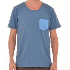 Bench Frugal T-Shirt Herren Tee Shirt Blau blue Shirts BMGA3209 Kurzamrshirt