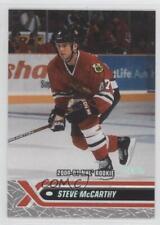 2000-01 Topps Stadium Club #229 Steve McCarthy Chicago Blackhawks Hockey Card