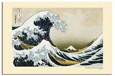 Grande ondata di KANAGAWA Grandi Poster Muro Nuovo-Disponibile Laminato