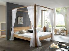 Himmelbett Stella, Buche massiv, Bett Doppelbett, Holzbett, Massivholzbett