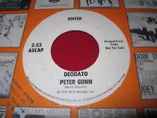 FUNK SOUL DISCO PROMO 45 - DEODATO - PETER GUNN