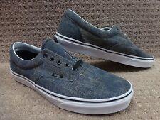 """Vans Men's Shoes """"Era"""" (Acid Denim) Navy/Black"""