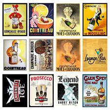 Alcohol Retro Metal Signs/Plaques Man Cave, Cool Novelty Gift, Bar/ Pub 21