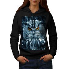 Wild Looking Owl Women Hoodie NEW | Wellcoda