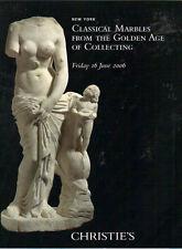 CHRISTIE'S Classical Marbles Venus Cupid Hermaphroditus  De Clercq Coll Catalog